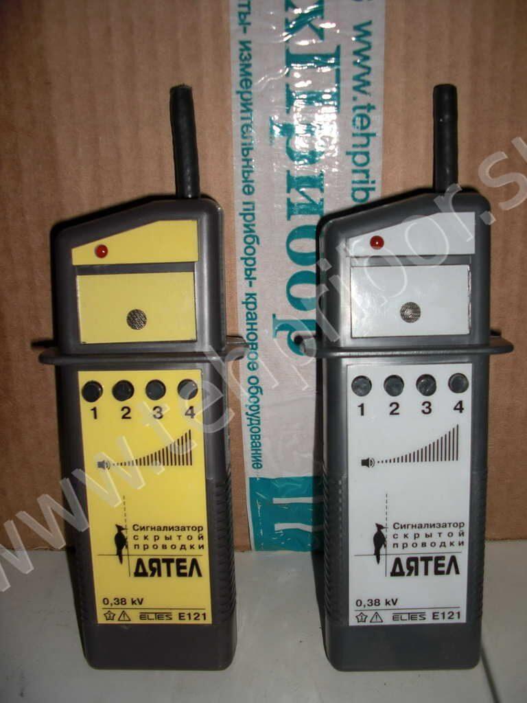 Сигнализатор скрытой проводки е121 дятел 160